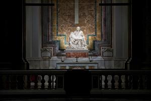La Pietà von Michelangelo