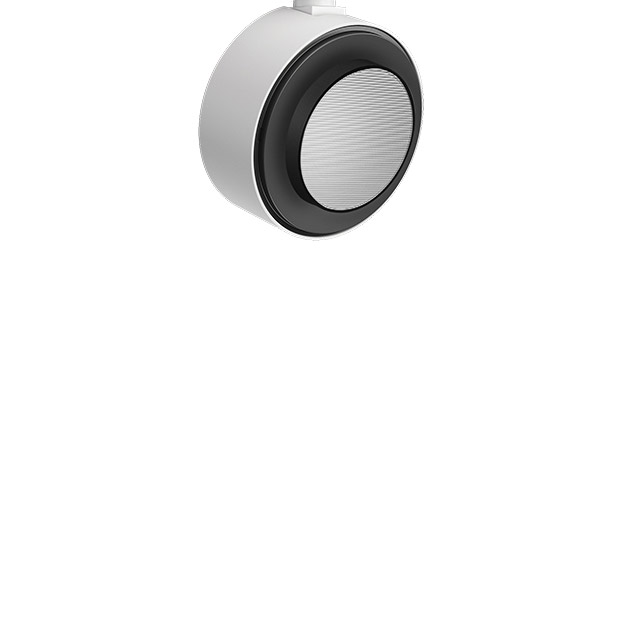 View Opti Beam Lens round - wall washer Low Voltage track 126x126mm