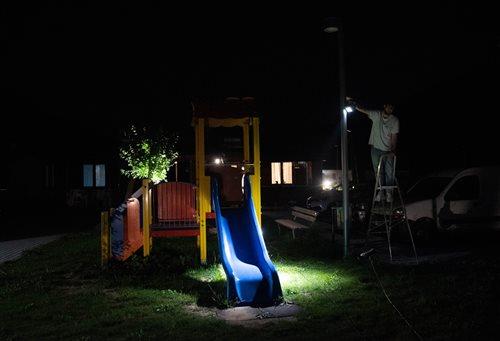 Progettazione 'sociale' della luce nei villaggi delle soluzioni abitative di emergenza ad Arquata.