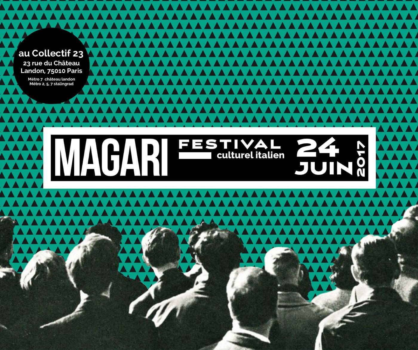Festival Magàri, Paris le 24 juin 2017