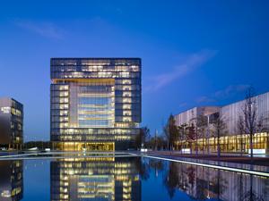Le siège social du groupe ThyssenKrupp
