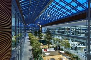 Un edifico a risparmio energetico: la sede Prysmian Group