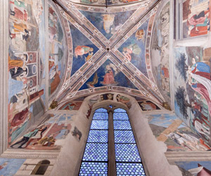 The Legend of the True Cross by Piero della Francesca in the Basilica of San Francesco