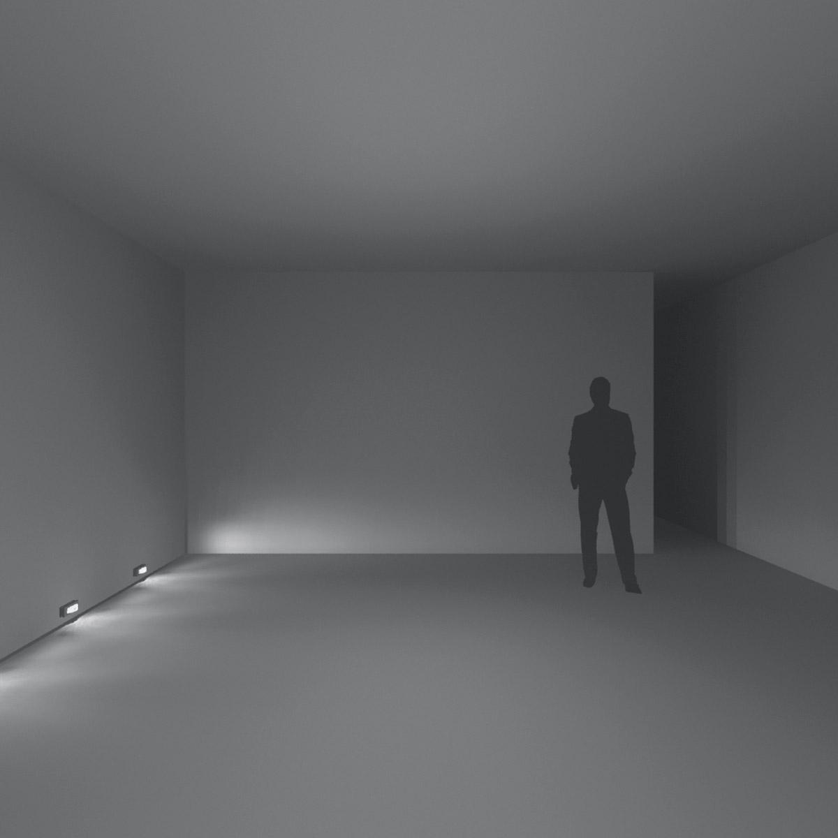 Iluminación indicativa de exterior