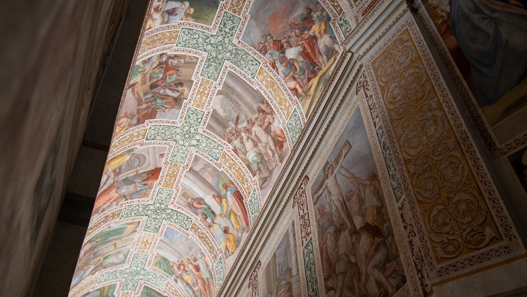 The Sancta Sanctorum complex.