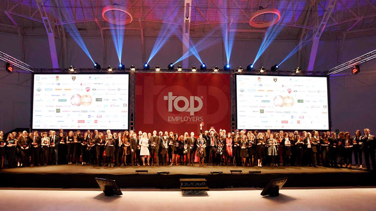 Top Employers rewards iGuzzini