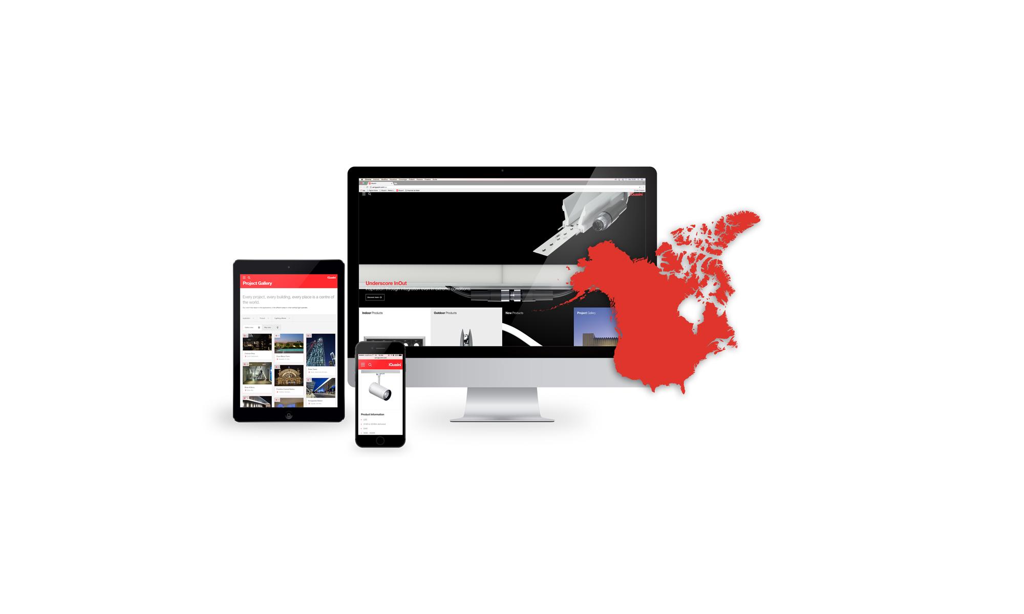 North America New Website