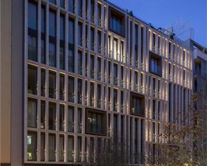 Une façade dynamique pour l'hôtel Ohla Eixample