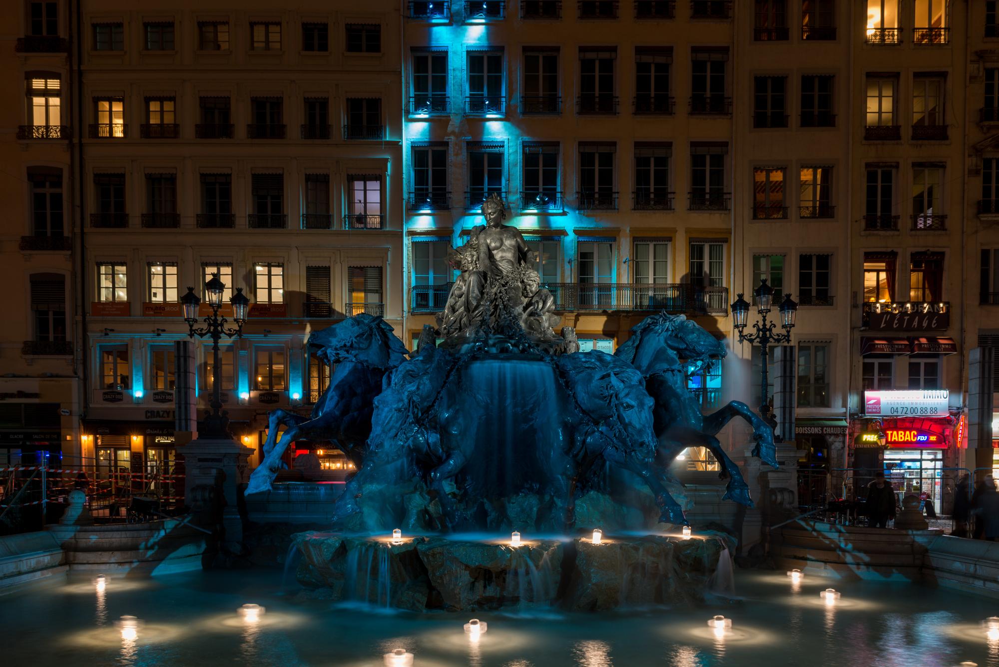 iGuzzini à la Fête des Lumières à Lyon