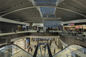The new E terminal of the Leonardo da Vinci airport