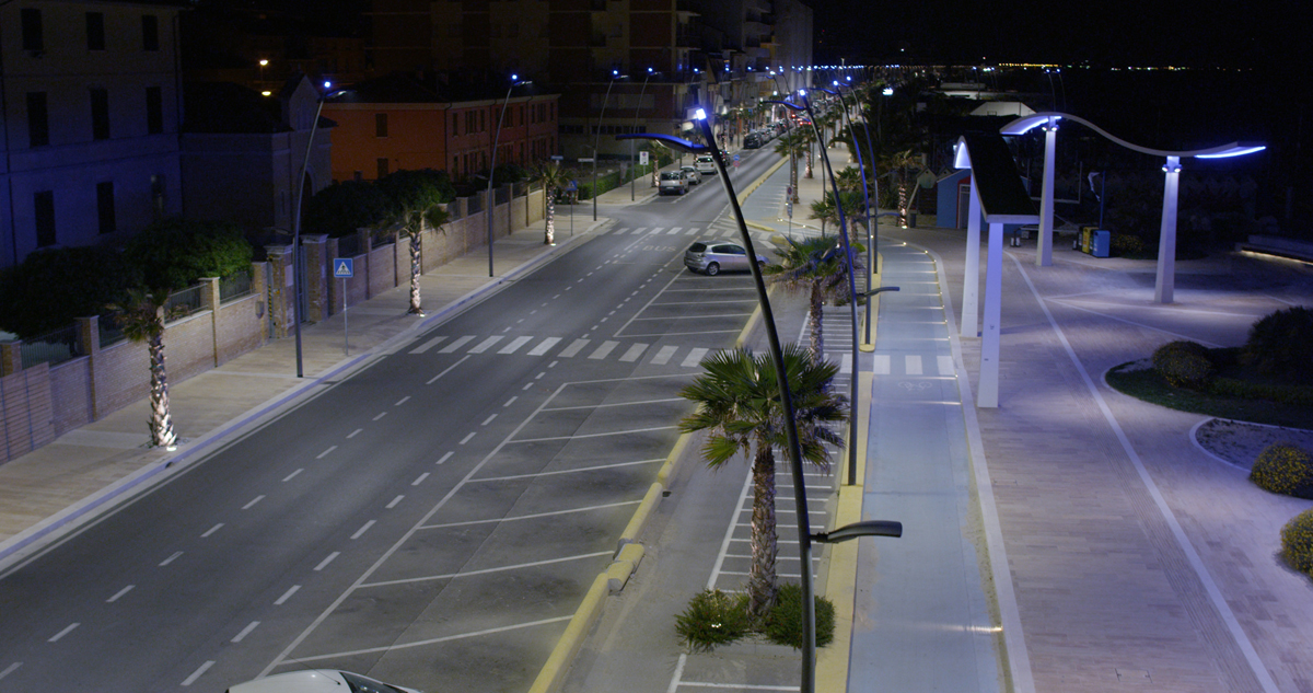 Iluminación urbana de exterior