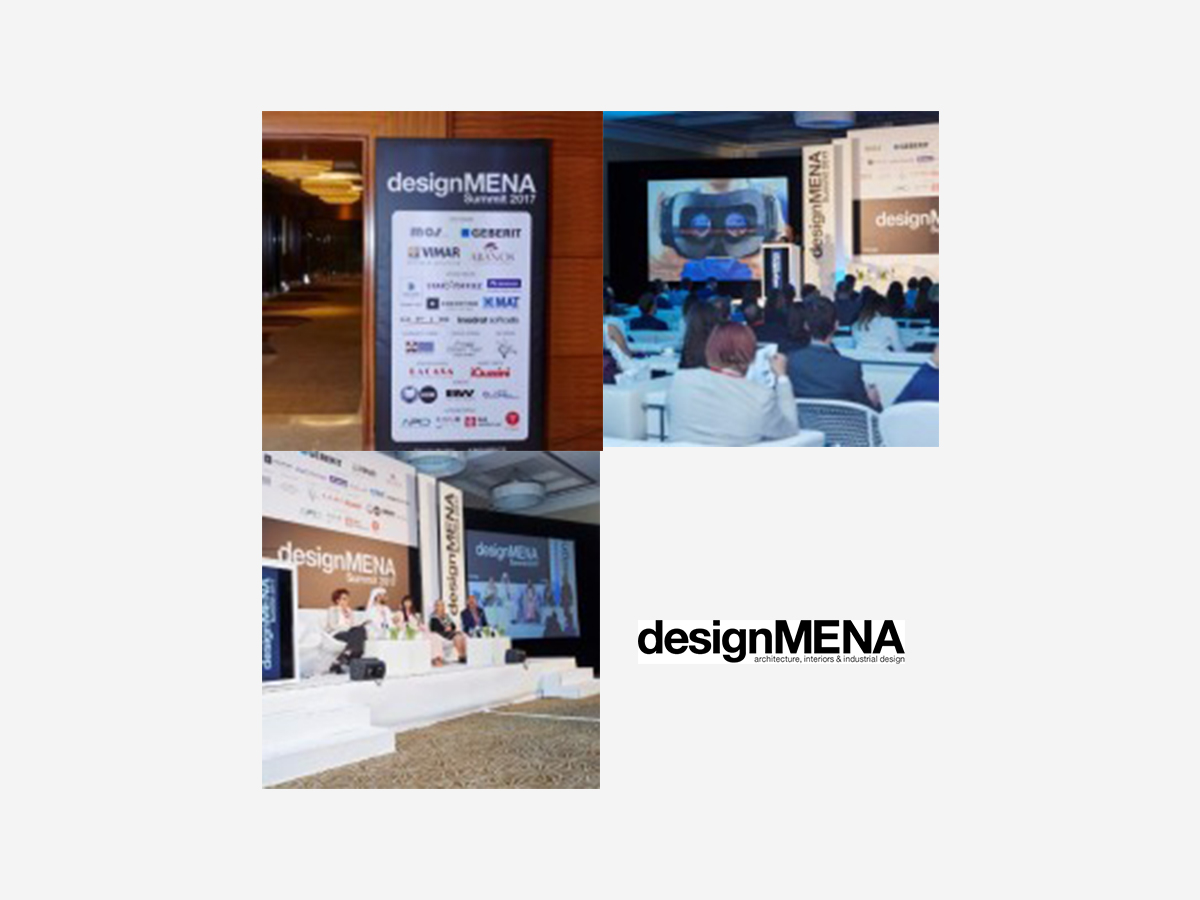 iGuzzini at the designMENA Summit 2017 in Dubai