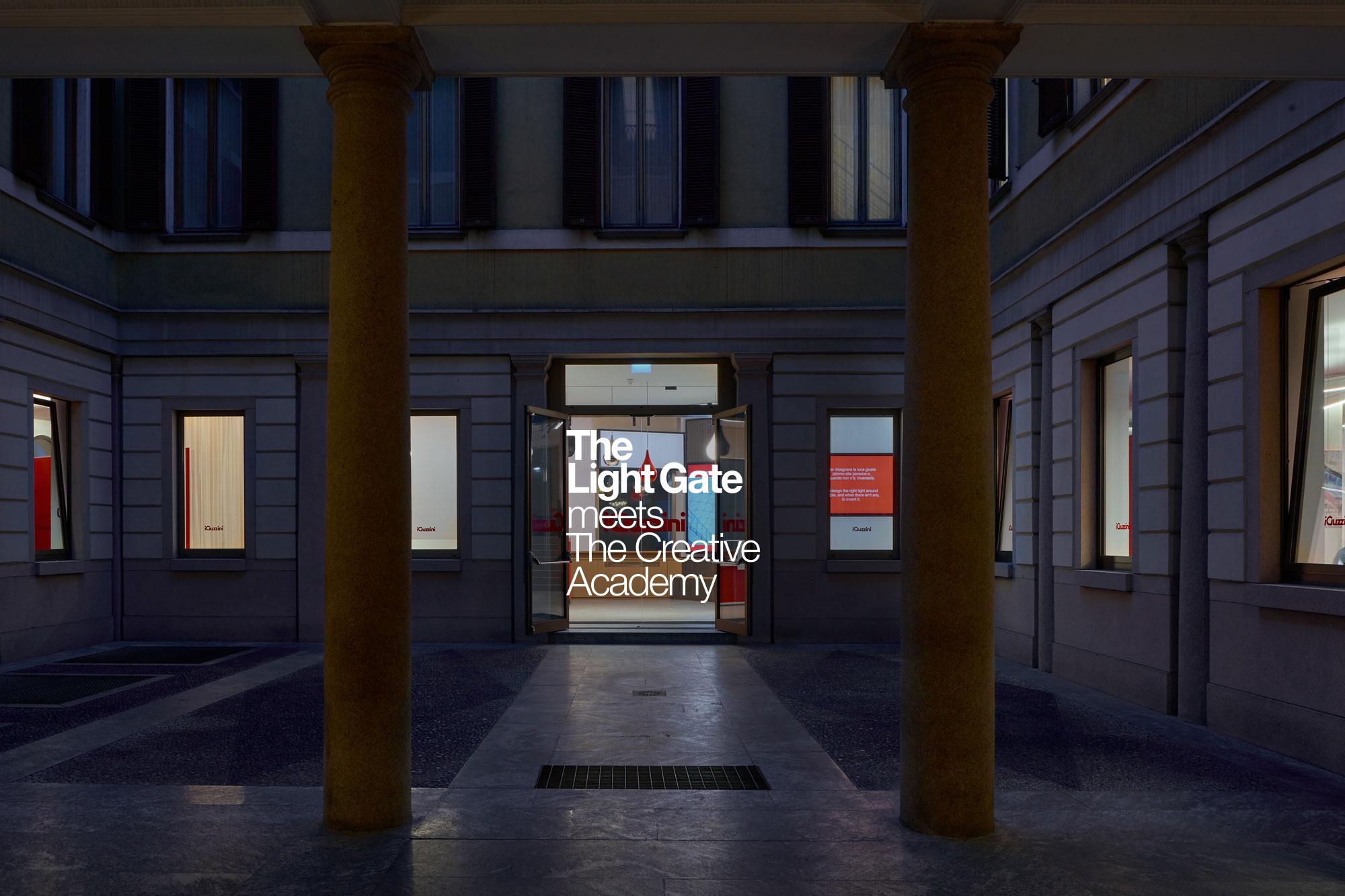 iGuzzini illuminazione und Creative Academy auf dem Fuorisalone 2019
