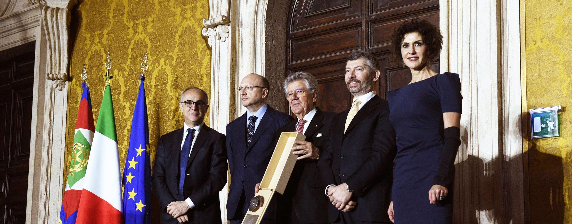 The entrepreneur who promotes Italian excellence