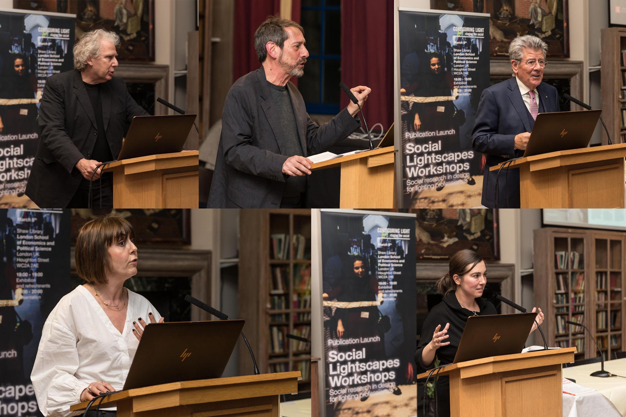 iGuzzini and Configuring Light (London School of Economics) present Social Lightscapes Workshops