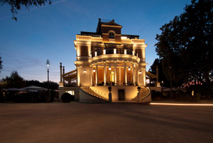Casina Valadier. Lighting 200 years of history.
