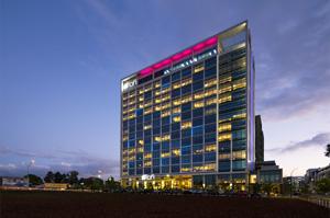El Aloft Hotel se convierte en un signo caracterizador