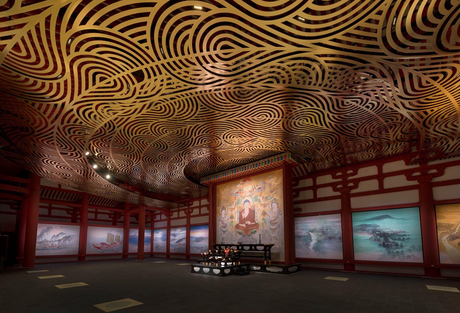 Yakushiji Temple. Jikido Hall