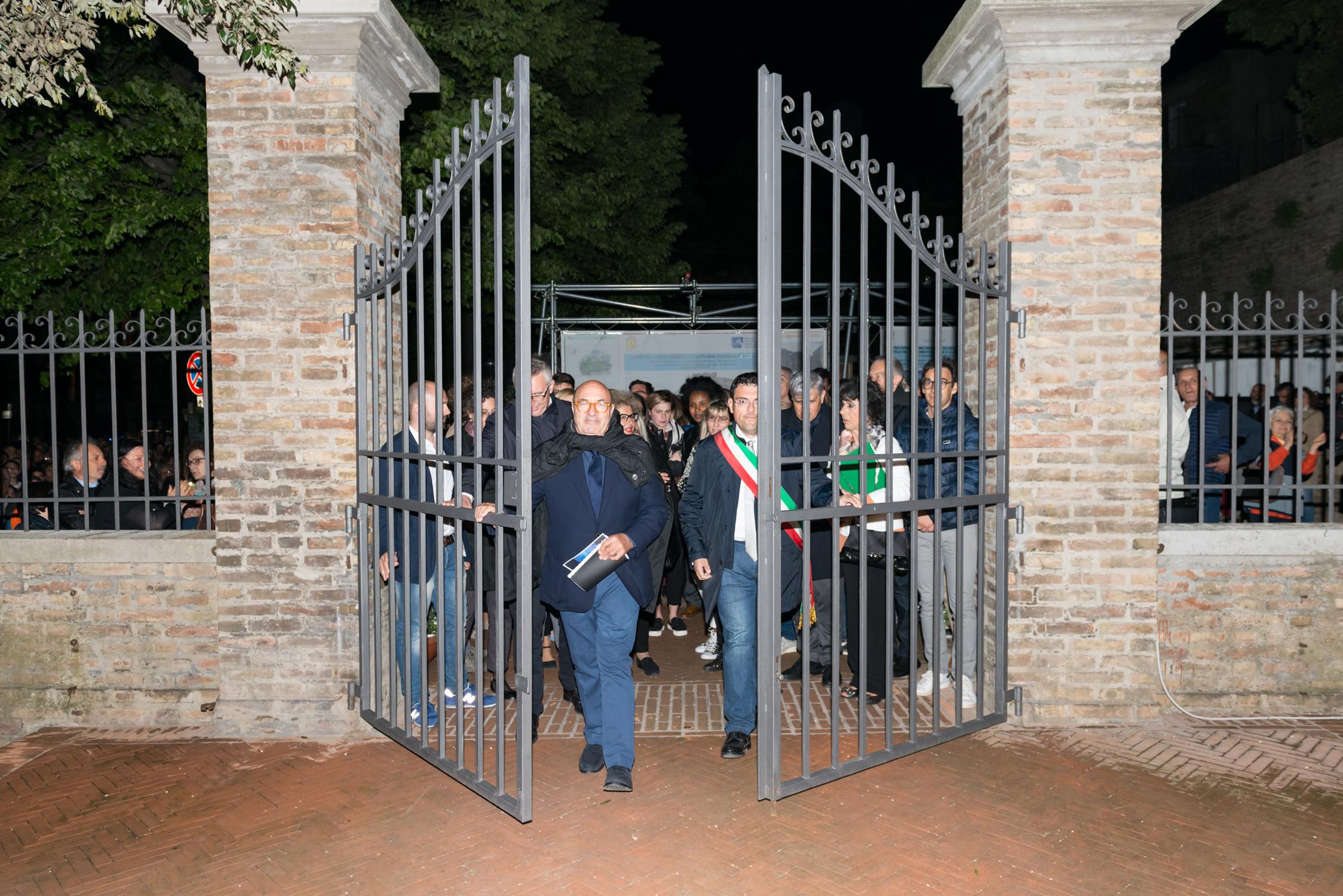 The Municipality of Recanati in collaboration with iGuzzini has regenerated the Colle dell'Infinito
