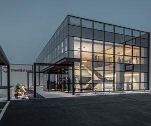 Neuer Geschäftssitz von Maddalena SpA