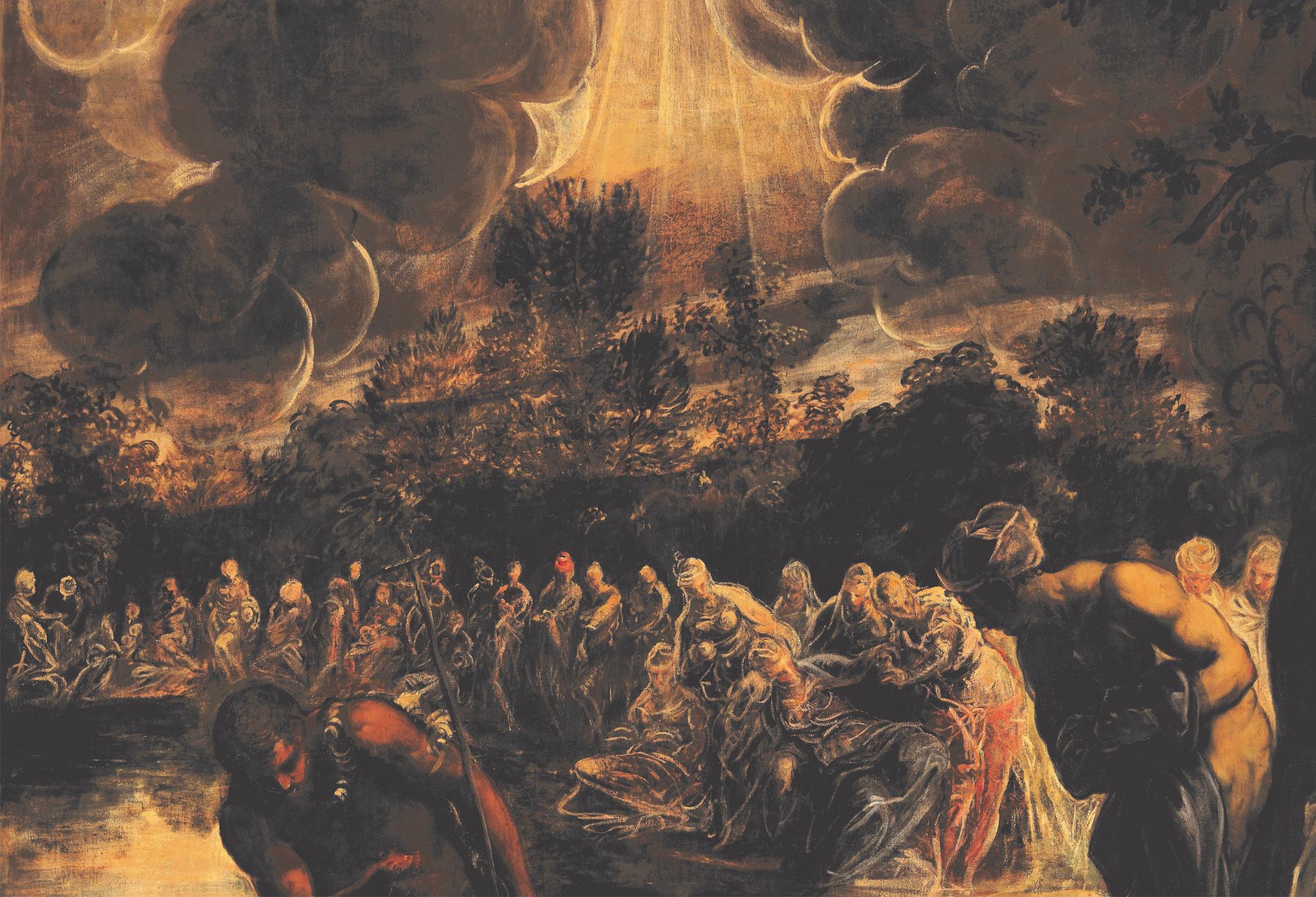Tintoretto ritrova la luce