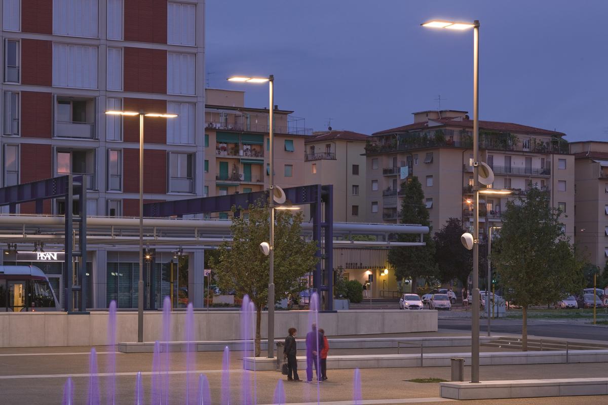 Iluminación general de postes