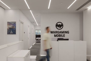 The Wargaming offices