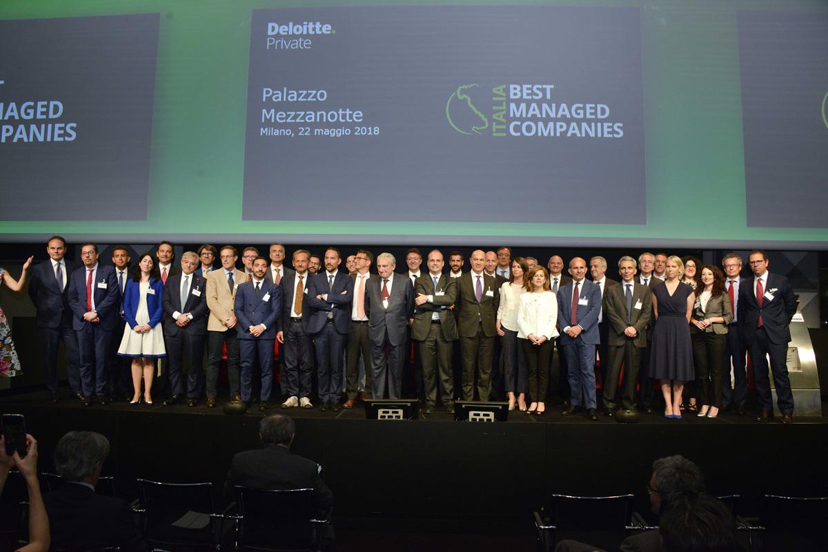 """iGuzzini erhält die Auszeichnung """"Best Managed Companies"""""""