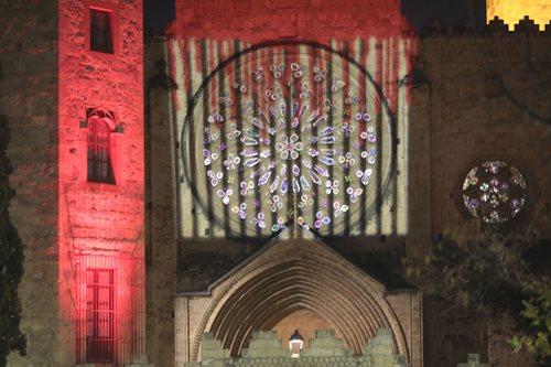 iGuzzini y el artista Lluís Ribas iluminan el Monasterio de Sant Cugat